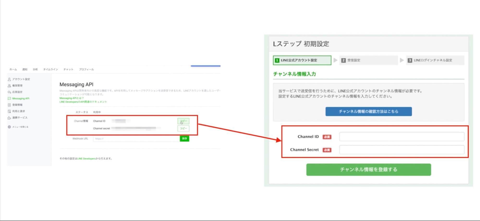ステップ ログイン L LINE公式アカウント(旧:LINE@)管理画面 ログインページのURLは?